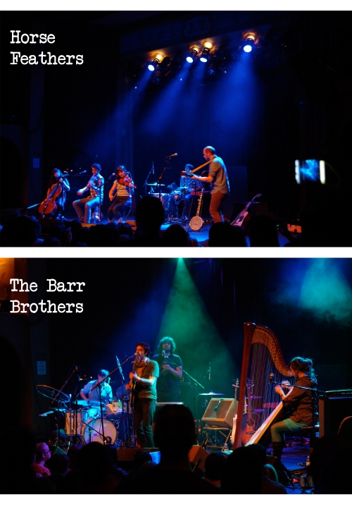 Horse Feathers and Barr Brothers