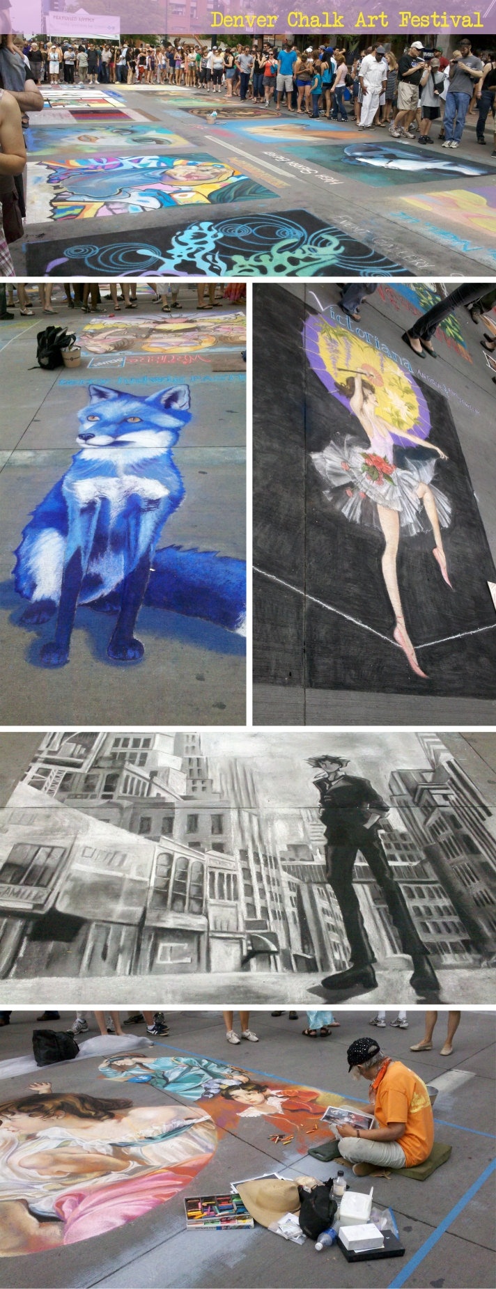 Chalk Art Festival Denver