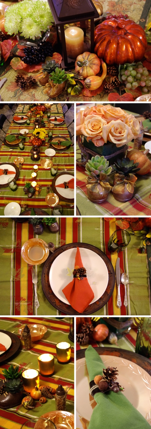 Thanksgiving Tablescape, Design by Holly K.