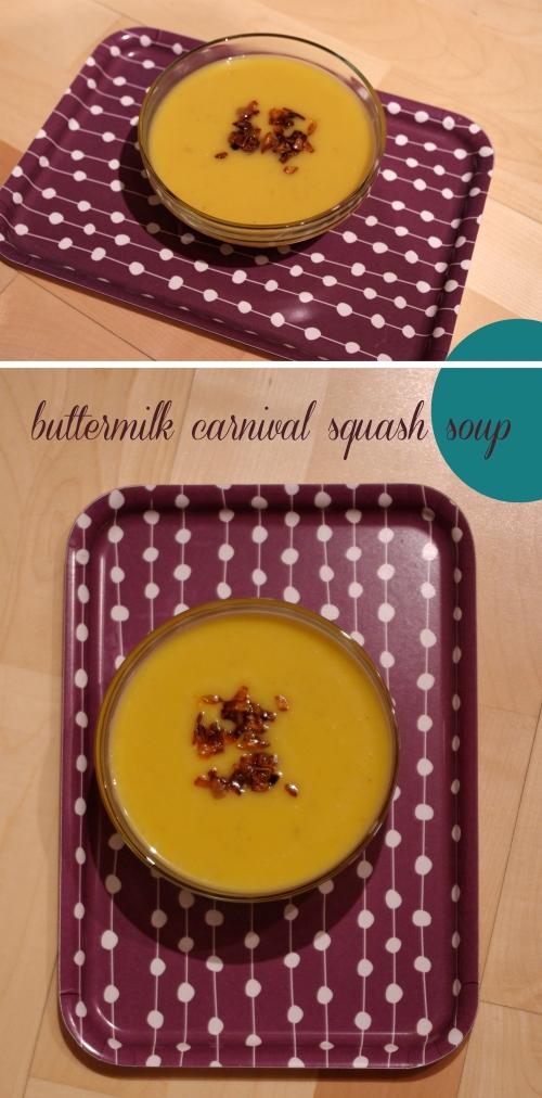 Buttermilk Carnival Squash Soup
