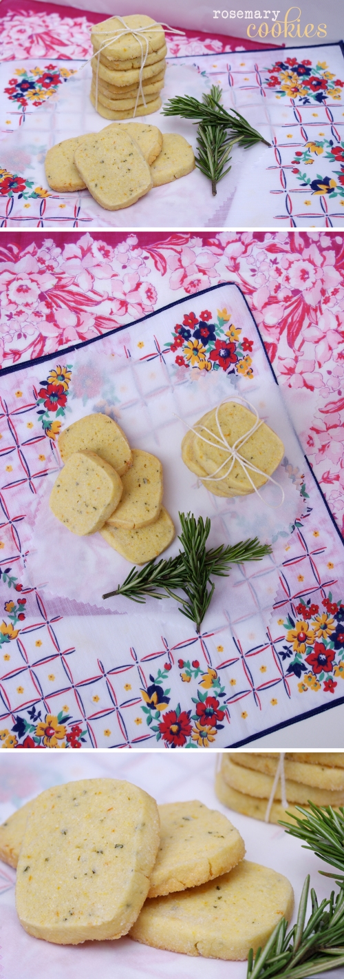 Rosemary shortbread Cookie