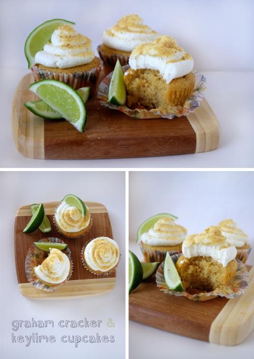 Graham Cracker Keylime Cupcake