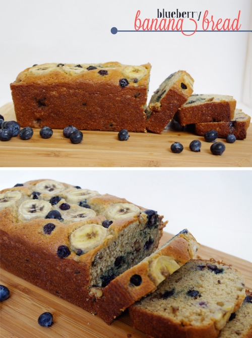 Blueberry Banana Bread | The Railways