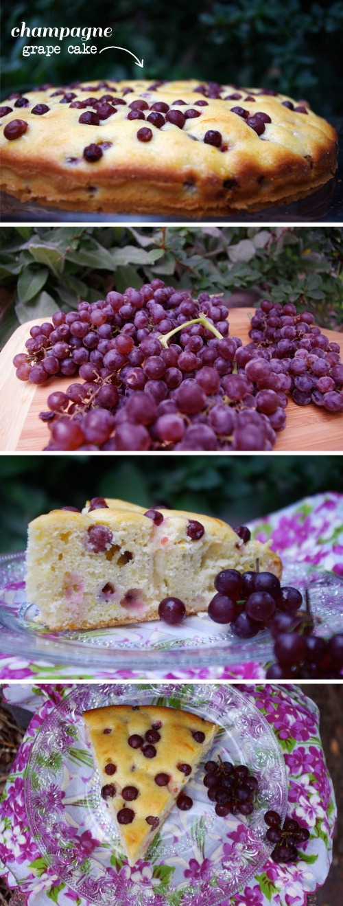 Champagne Grape Cake | The Railways