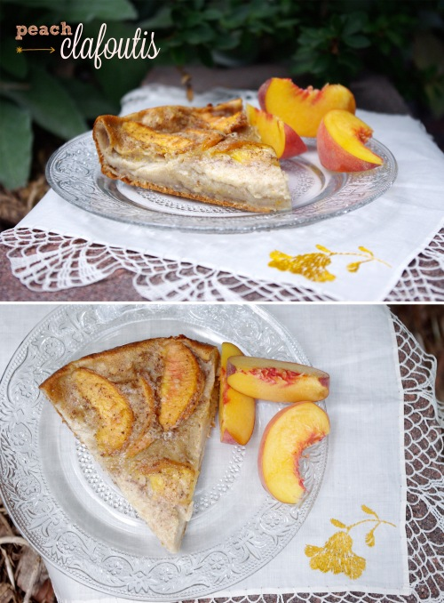 Peach Clafoutis | The Railways