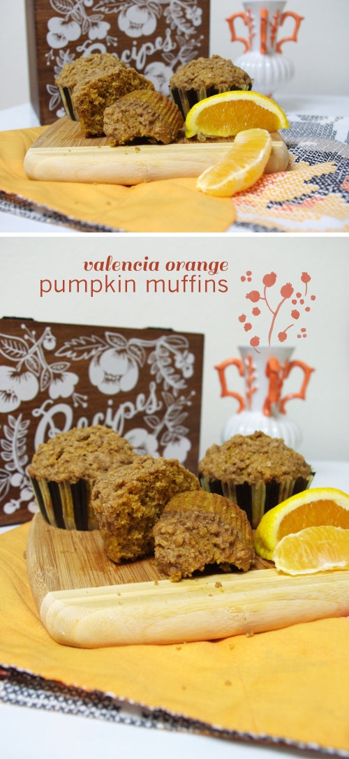 pumpkin orange muffins |the railways