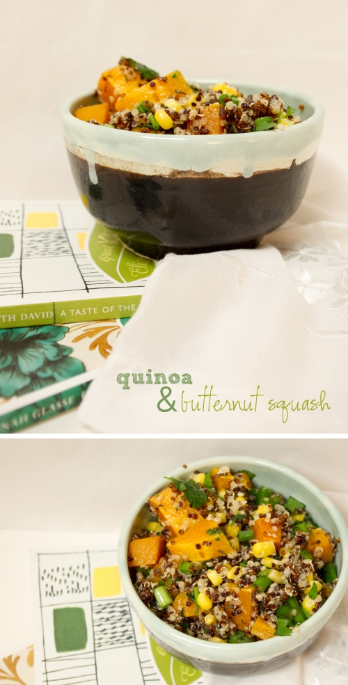 quinoa and butternut squash | the railways