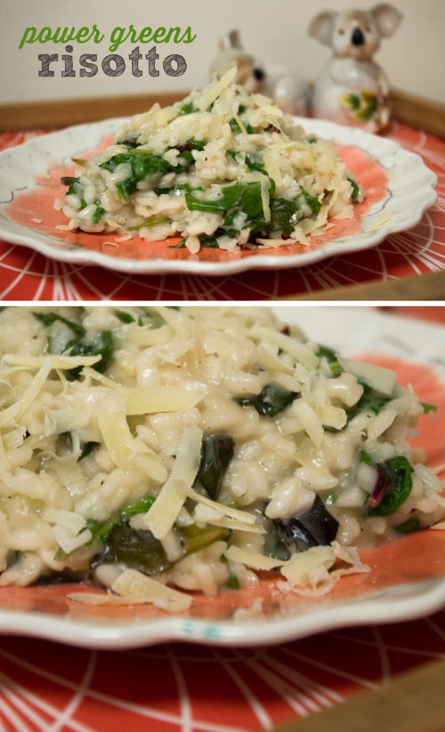 power greens risotto