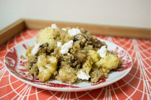 cauliflower quinoa