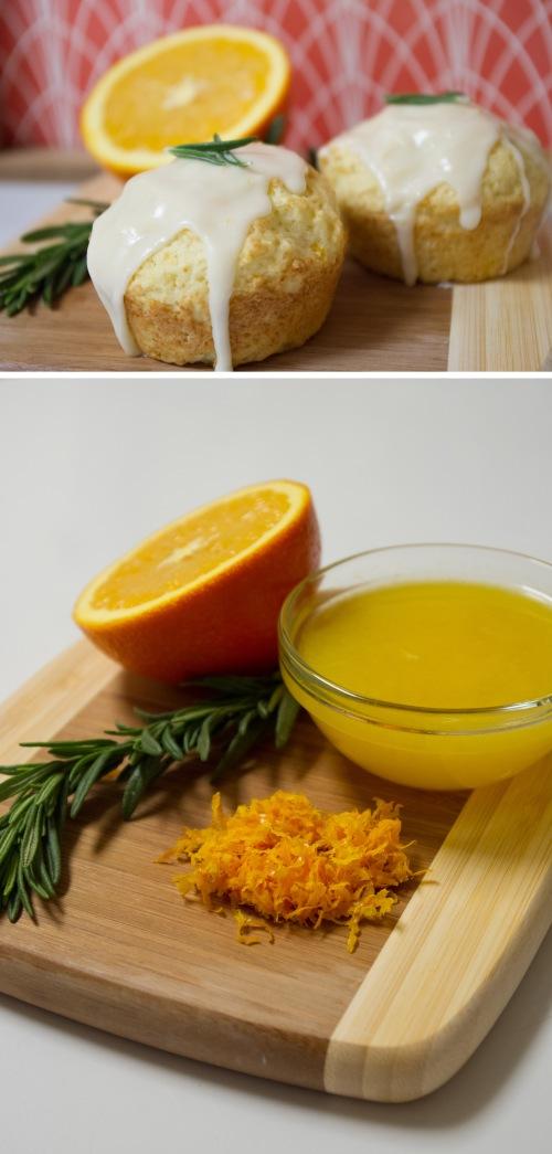 Rosemary Orange Muffins