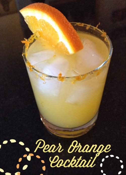 pear orange cocktail