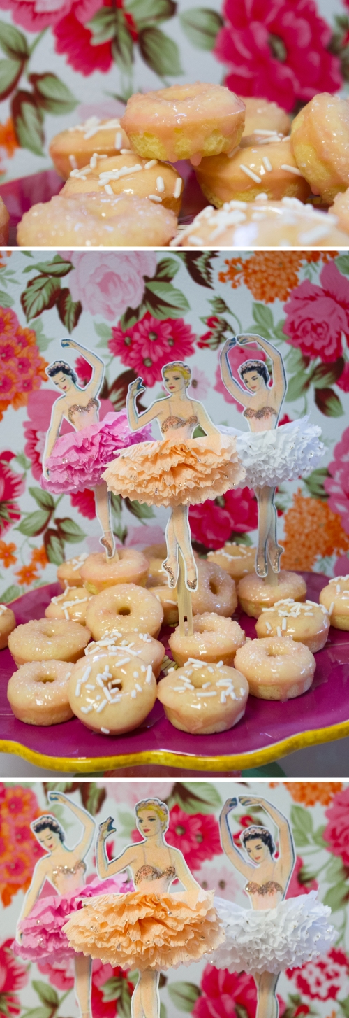 Rose Water Donuts