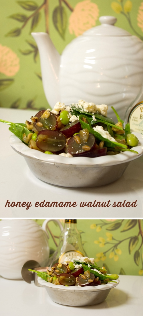 HoneyEdamameWalnutSalad