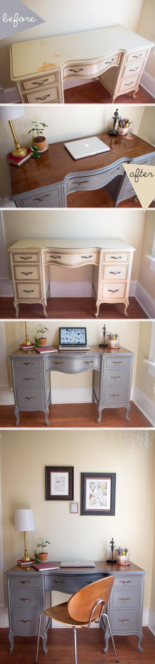 desk refinish